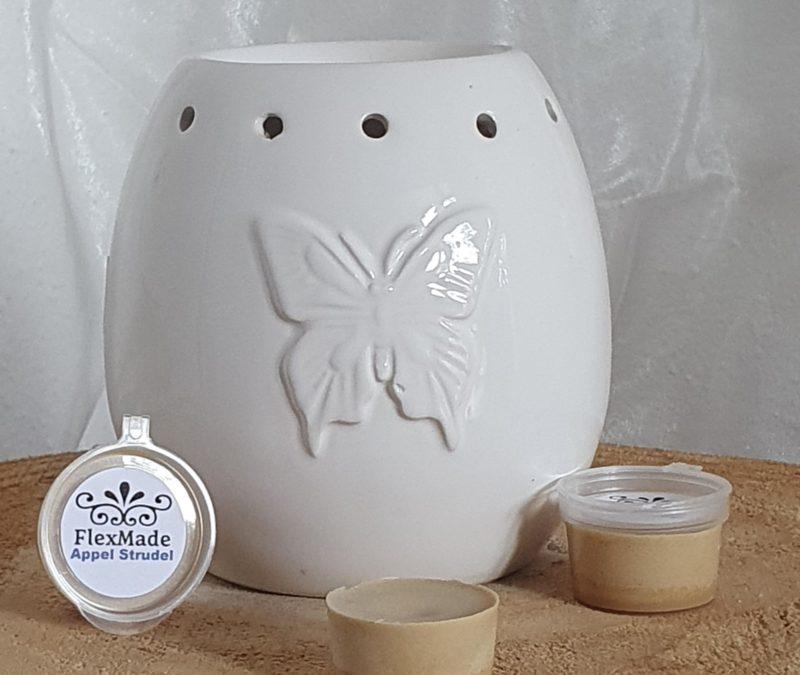 tea meet wax appelstrudel